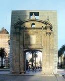 城堡的门 免版税图库摄影