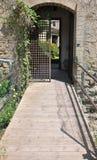 城堡的门 免版税库存照片