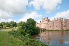 城堡的风景 库存图片