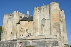 城堡的主楼或城堡在尼奥尔,法国 免版税库存图片