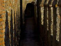 城堡的Pallisdades 免版税图库摄影