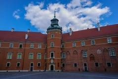 城堡皇家华沙 免版税图库摄影