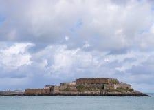 城堡短号 库存照片