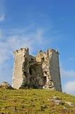 城堡破坏了 免版税库存照片