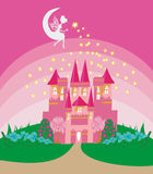 城堡神仙的魔术公主传说 图库摄影