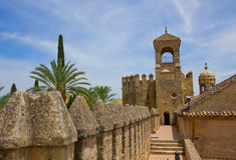 城堡科多巴西班牙 免版税库存照片