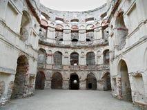 城堡立陶宛被采取的照片废墟trakai 免版税库存照片