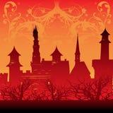 城堡童话 免版税库存照片