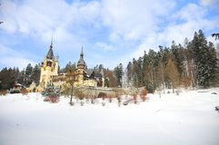 城堡童话 库存照片