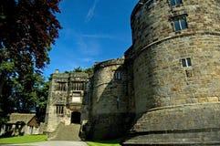 城堡端 免版税库存图片