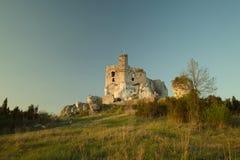 城堡米罗 库存照片