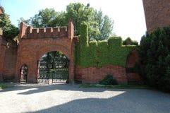 城堡红色 免版税库存图片