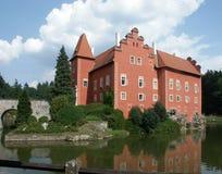 城堡红色 免版税图库摄影