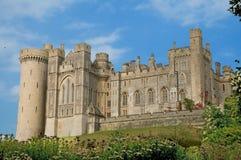 城堡纵向 库存照片