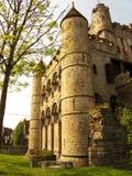 城堡绅士 免版税图库摄影