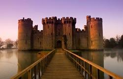 城堡经典英语 库存图片