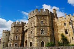 城堡给windsor装门 免版税库存照片