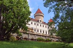 城堡绿色 库存照片
