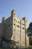 城堡罗切斯特 库存照片