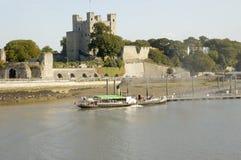 城堡罗切斯特 图库摄影
