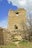 城堡罗马尼亚破坏torockszentgyrgy 库存图片