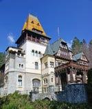 城堡罗马尼亚 免版税图库摄影