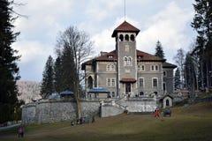 城堡罗马尼亚 库存图片
