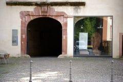 城堡美因法 库存图片