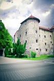 城堡老克罗地亚 免版税库存图片