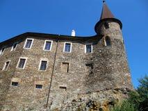 城堡老塔 图库摄影