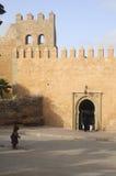 城堡老墙壁 免版税图库摄影
