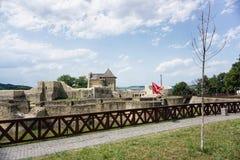 城堡老废墟 库存图片