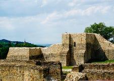 城堡老废墟 库存照片