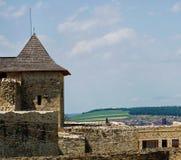 城堡老废墟 免版税库存照片