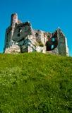 城堡老鹰mirow嵌套波兰废墟 库存图片