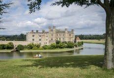 城堡肯特利兹英国 库存图片