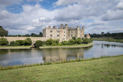 城堡肯特利兹英国 库存照片