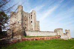 城堡肯特罗切斯特 库存图片