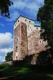 城堡芬兰中世纪土尔库 免版税库存照片