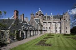城堡苏格兰thirlestane 库存照片