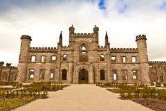 城堡英国中世纪 免版税图库摄影