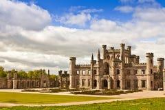 城堡英国中世纪 免版税库存照片