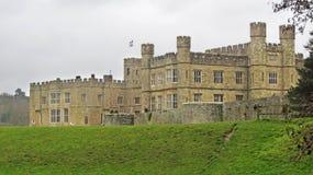 城堡英国利兹 库存照片