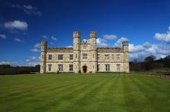 城堡英国利兹 图库摄影