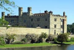 城堡英国利兹 库存图片