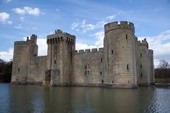 城堡英国老 库存照片
