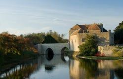 城堡英国老 库存图片