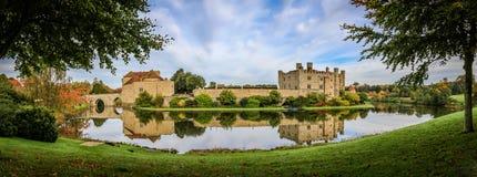 城堡英国肯特利兹 免版税库存照片