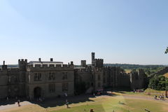 城堡英国 库存照片