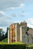 城堡英国hever 库存图片